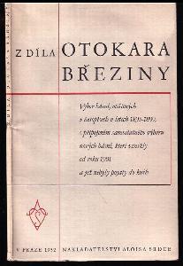 Z díla Otokara Březiny - výbor básní, otištěných v časopisech v letech 1895-1899, s připojením samostatného výboru nových básní, které vznikly od r 1901 a jež nebyly pojaty do knih.