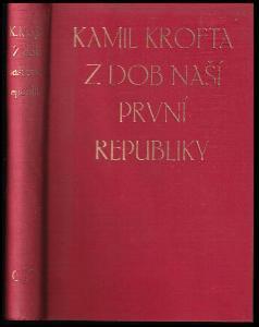Z dob naší první republiky