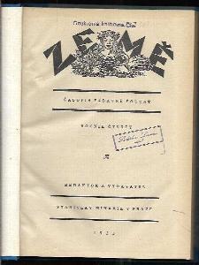Země - časopis zábavně poučný, ročník čtvrtý, 1923