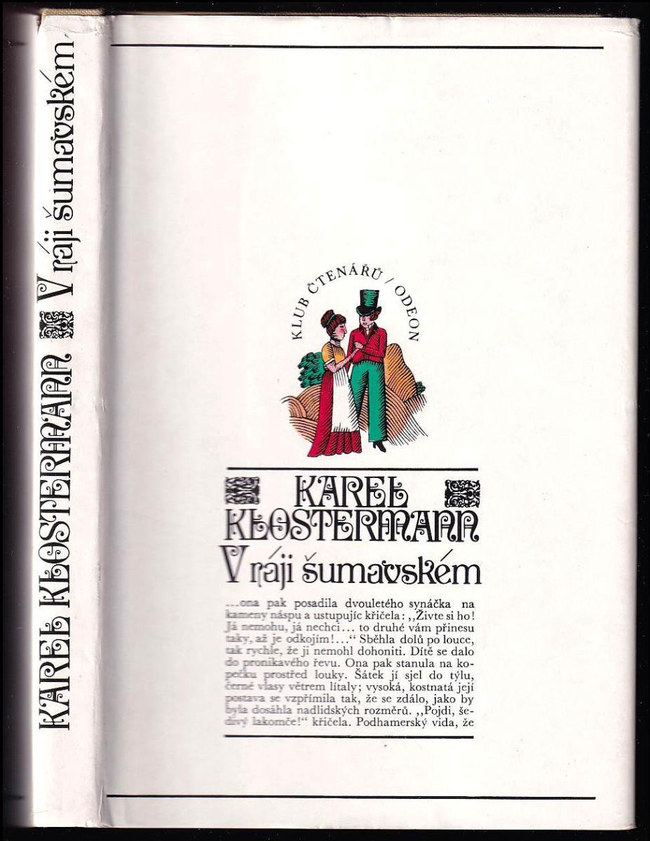 Karel Klostermann: V ráji šumavském - román z Pošumaví